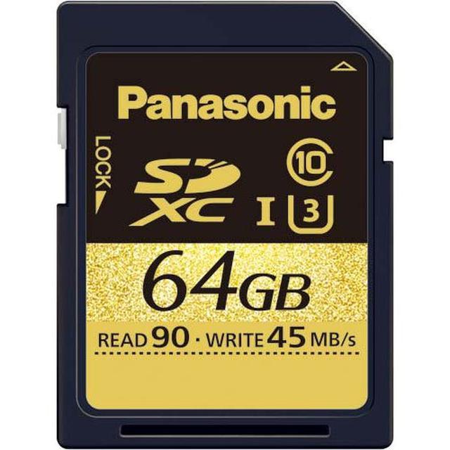 画像: Panasonic 64GB SDXCメモリーカード RP-SDUC64GJK