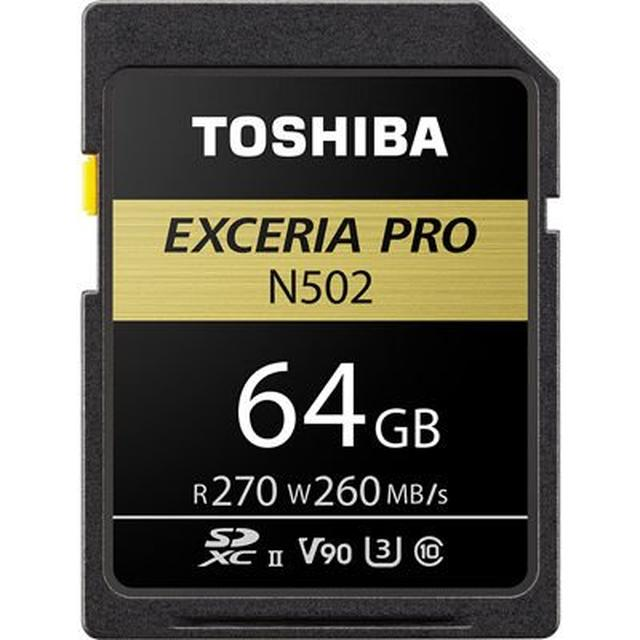 画像: SDXU-D064G EXCERIA PRO SDXU-Dシリ-ズ SDXCメモリカ-ド 64GB