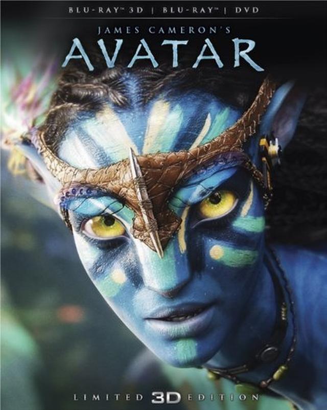画像: アバター 3Dブルーレイ&DVDセット(2枚組) [Blu-ray]