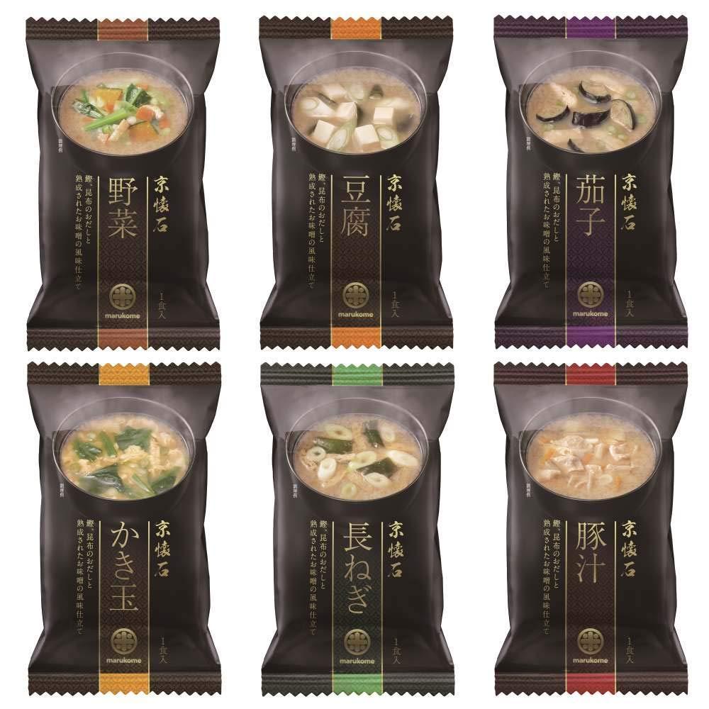 画像: マルコメ フリーズドライ京懐石詰め合わせ (30食(5食×6種類))