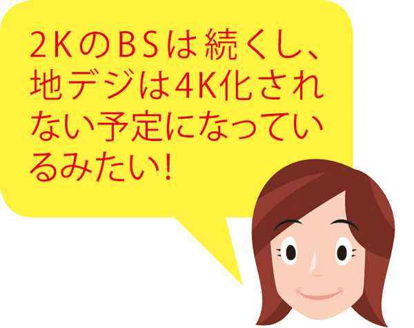 画像2: 【4K8K放送】新しいテレビやアンテナは必要?今の地デジとBSはどうなる?
