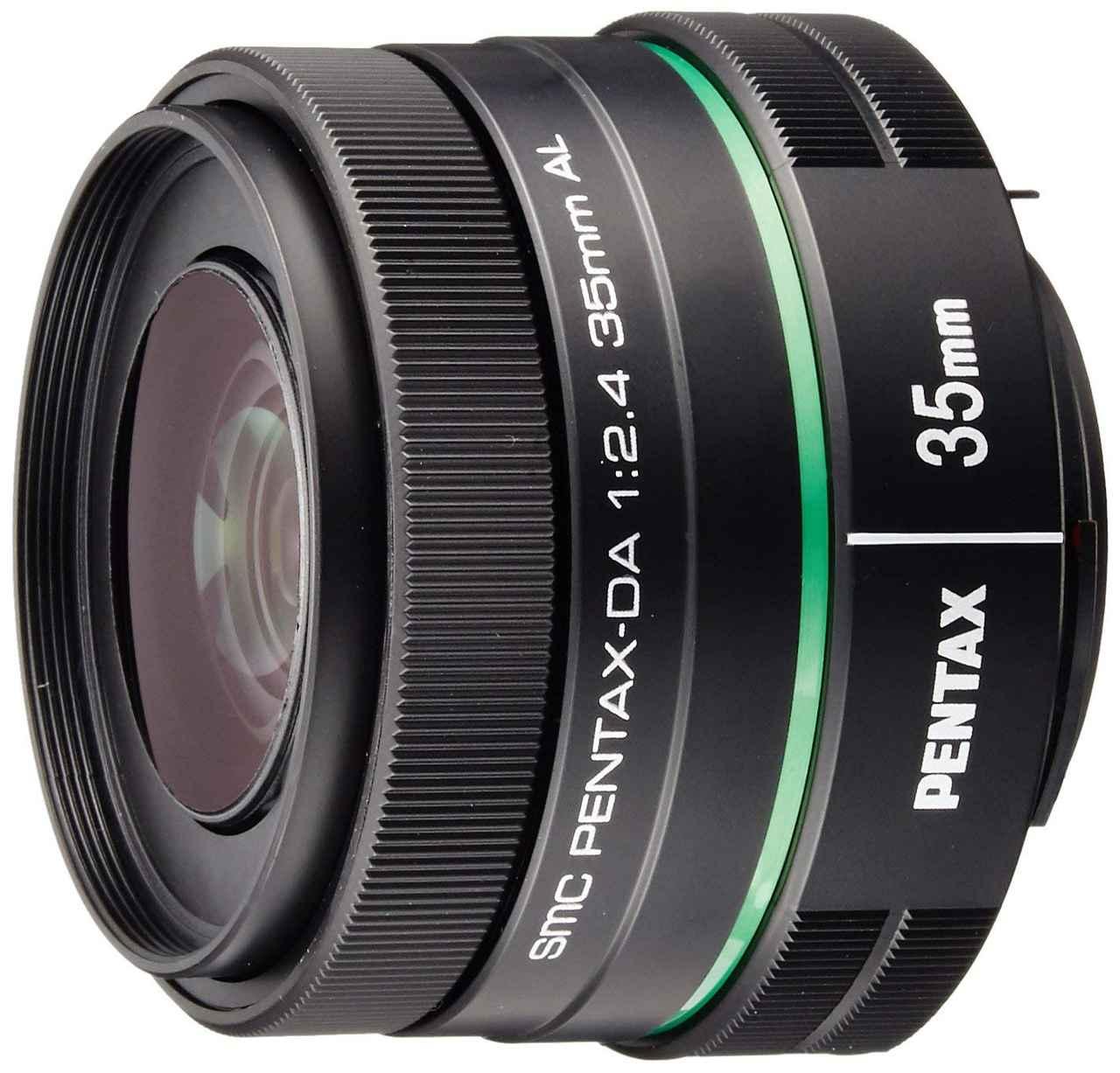 画像: PENTAX 単焦点レンズ DA35mmF2.4AL Kマウント APS-Cサイズ 21987 ブラック