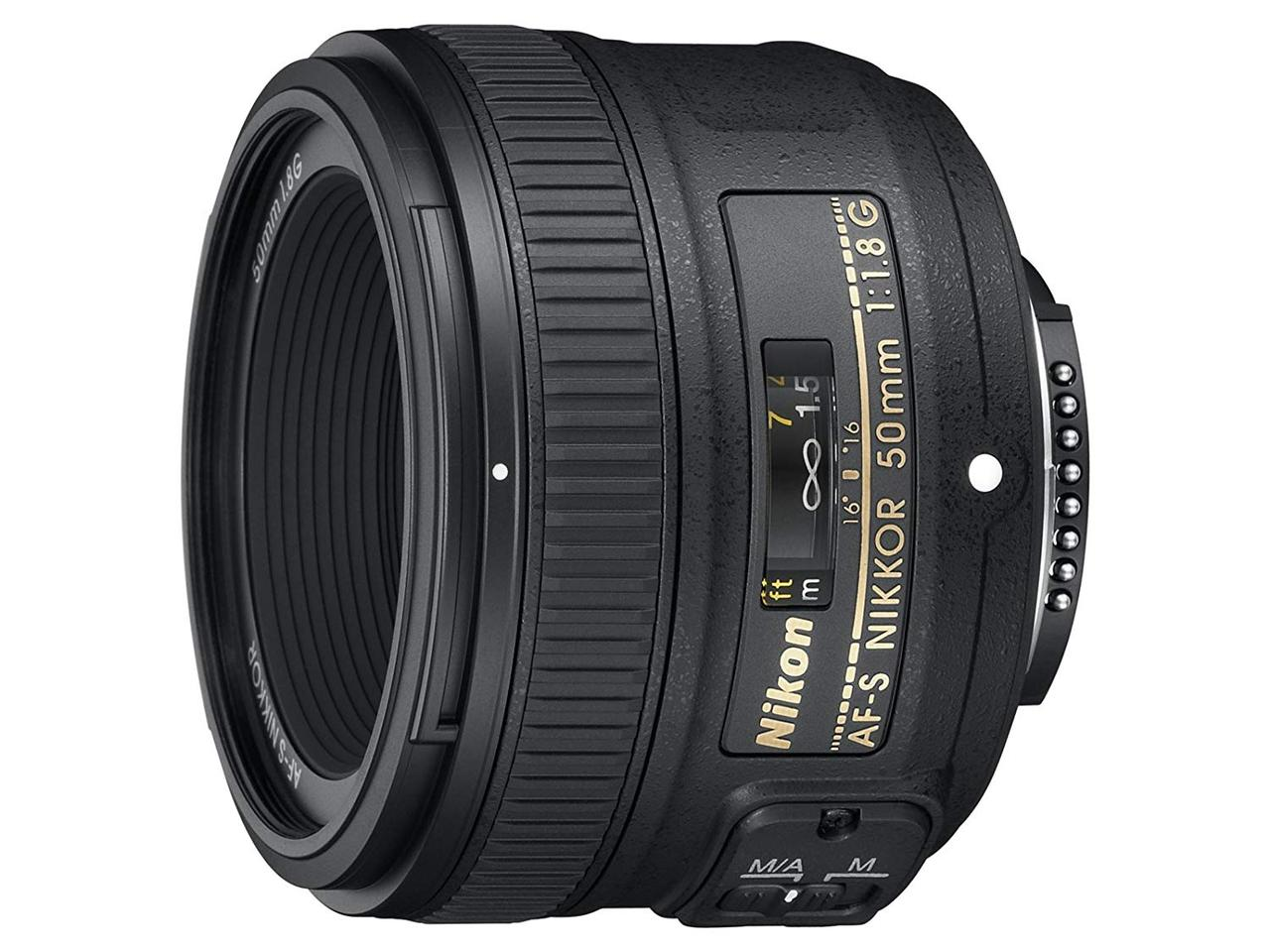 画像: Nikon 単焦点レンズ AF-S NIKKOR 50mm f/1.8G フルサイズ対応 AF-S 50/1.8G