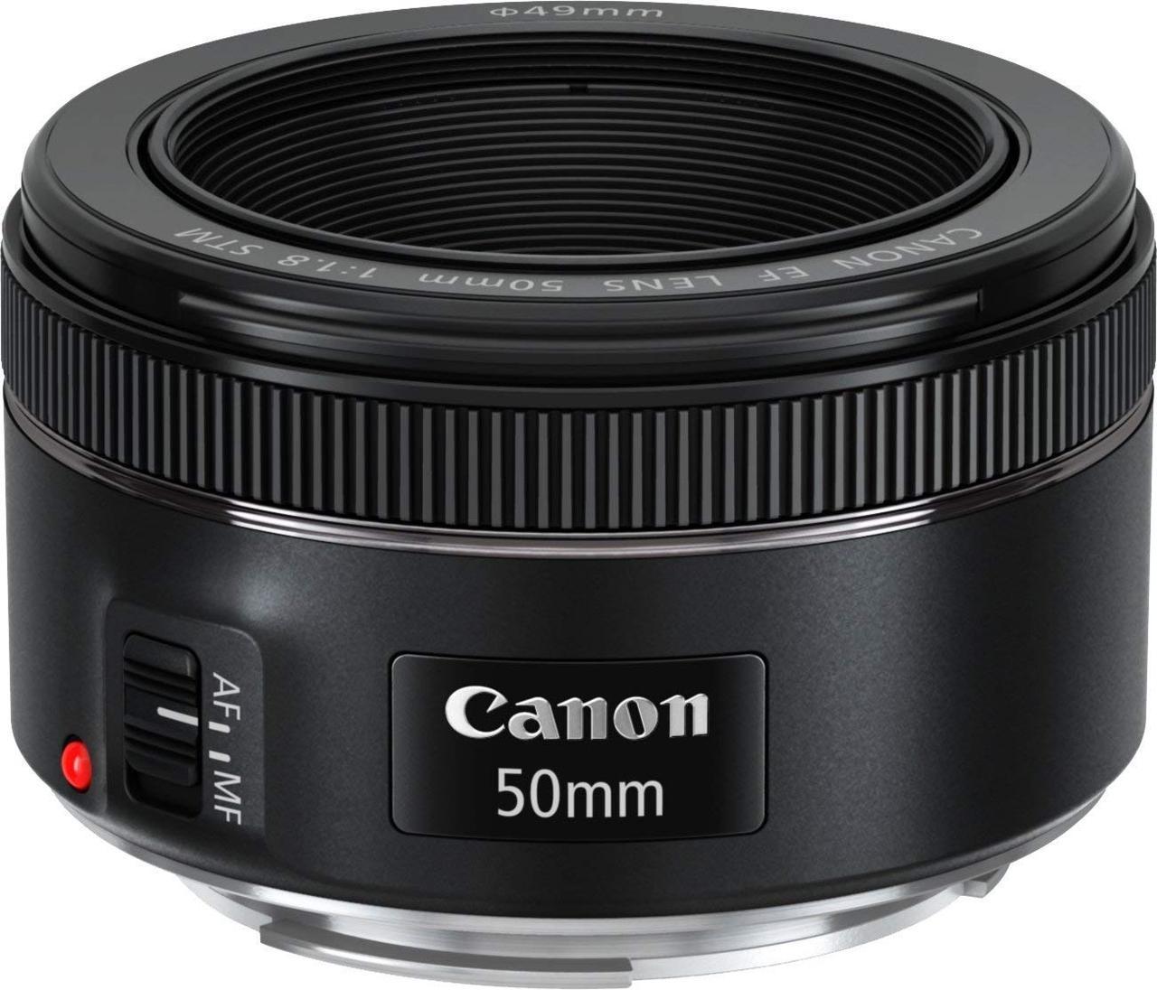 画像: Canon 単焦点レンズ EF50mm F1.8 STM フルサイズ対応 EF5018STM