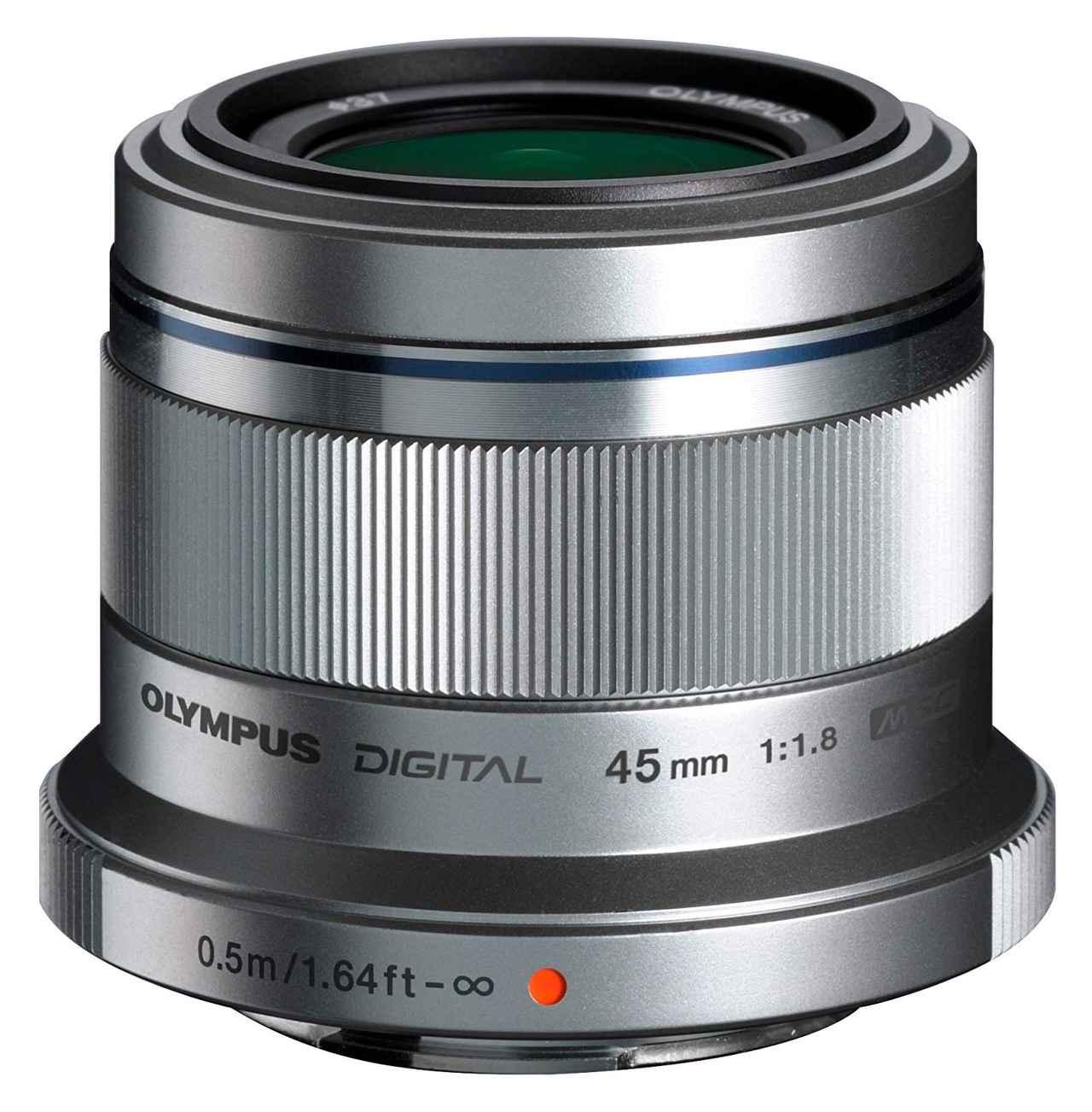 画像: OLYMPUS 単焦点レンズ M.ZUIKO DIGITAL 45mm F1.8 シルバー