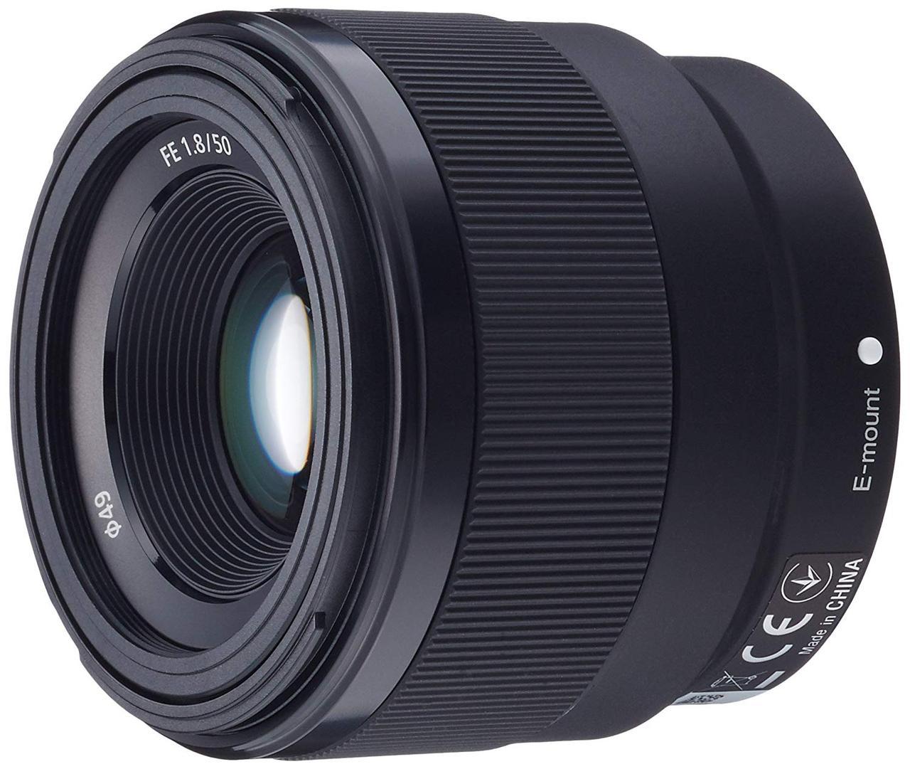 画像: ソニー デジタル一眼カメラα[Eマウント]用レンズ SEL50F18F (FE 50mm F1.8)