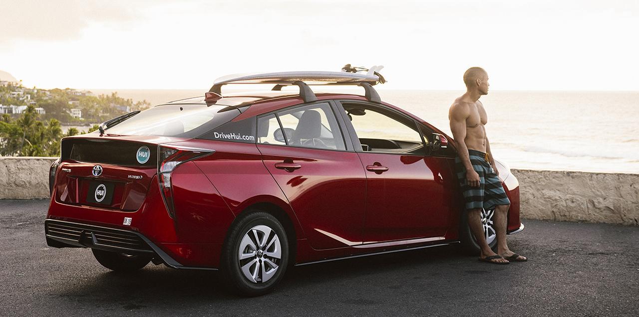 画像: サーフィンに行く時だけ、買い物の時だけ利用するなど、利用活にシフトするのが新しいライフスタイル。