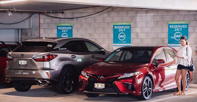 画像: トヨタ自動車は、北米ハワイ州において現地販売店を主体にカーシェアサービス「Hui」を開始している。