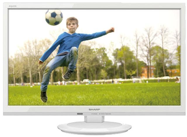 画像: 22V型で1920ドット×1080ドットのフルHD液晶テレビ。LEDバックライトを採用し、消費電力が少ないのもポイント。3波ダブルチューナー搭載。