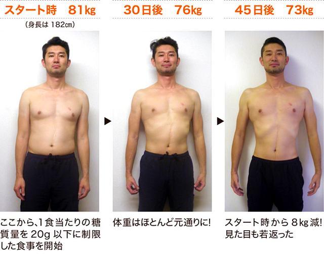 画像: 自ら体を張り5カ月で15kgの減量に成功!