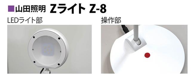 画像1: 小さい光源ながらキリッと明るい印象。ヘッドは左右300度、前後210度に可動し、天井も照らせる。操作ボタンは一つで、一回押すとオン・オフ、二度押しで全灯、長押しで照度調整となる。
