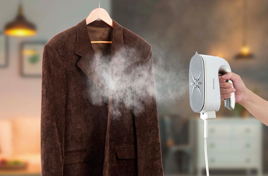 画像: コード付きでは最長7分10秒使用が可能。スーツやコートなどの大物は、こちらで対応できる。