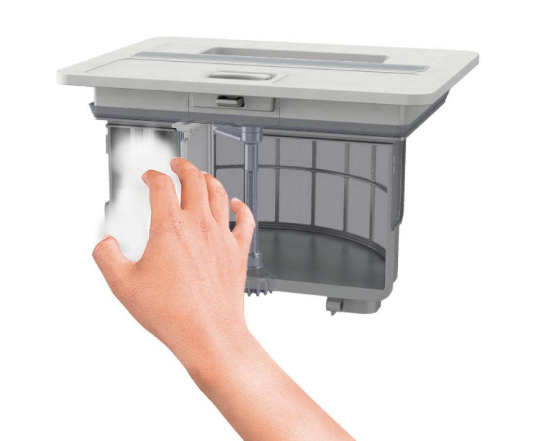 画像: 乾燥フィルターの掃除のしやすさも重要。