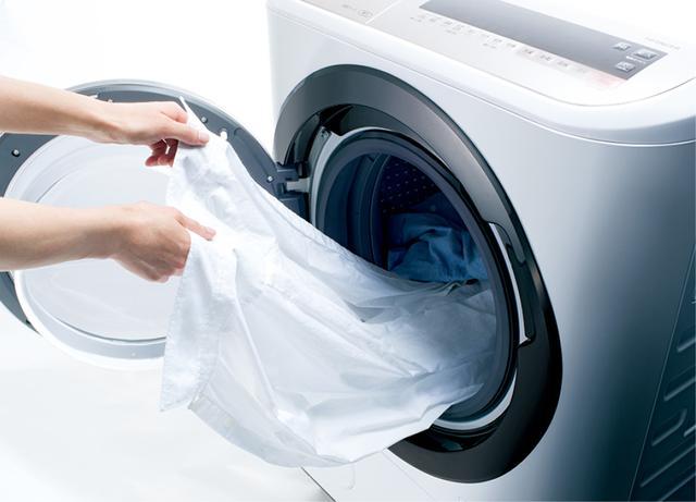 画像: ドラム式の乾燥機能は衣類が傷みにくい。