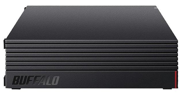 画像: バッファローのHD-LDS-Aシリーズ。コンパクトなボディのUSB HDDで、故障を知らせる予測機能に加え、データ復旧やデータの引越サービスなどが用意されている。ファンレス設計など静音性の高さも魅力だ。4Tバイトで実売1万7250円。