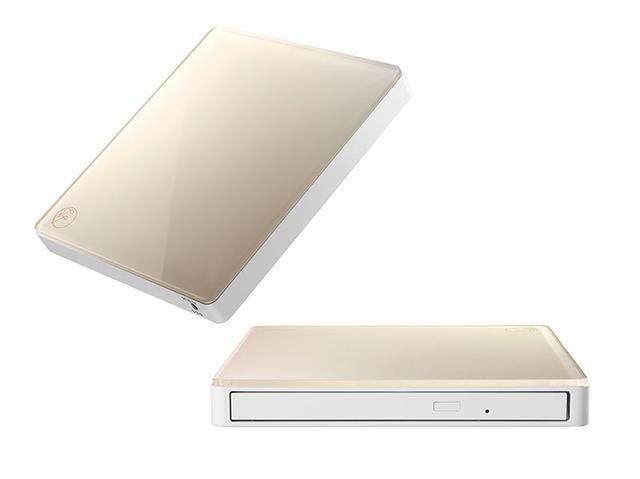 画像: アイ・オー・データの「CDRI-W24AI2」シリーズはWi-Fiを活用してCDの音楽をワイヤレスでスマホへ取り込めるCDドライブ。iPhoneとAndroidの両方に対応。本体色はライトグレージュのほか、アイスグレーも用意される。