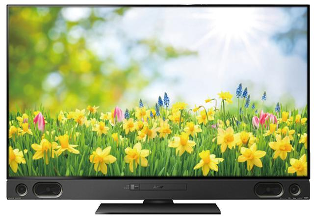 画像: 三菱の4Kチューナー内蔵テレビのRA1000シリーズは、BDドライブを内蔵しており、4K番組のBDへのダビングが可能。ただし、BDへのダビングはダウンコンバートした2K映像となってしまうため、4K映像をそのままBDに残すことはできない。画面サイズの違いで3製品が発売されているが、いずれも同様だ。