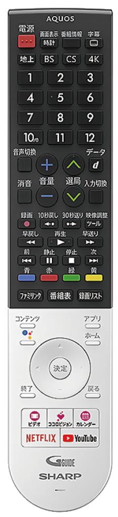 画像: 「地デジ」「BS」「CS」に加えて4Kボタンを装備している。「静止」ボタンで動画と静止画の2画面表示になる。