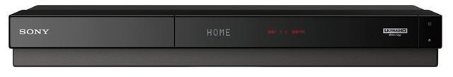 画像: ●サイズ/幅430㎜×高さ58.7㎜×奥行き227.2㎜●重量/3.7㎏。UHD BD対応で内蔵HDDを3Tバイトとした3チューナー機。充実した録画予約機能を備える。容量2T/1Tバイトの下位モデルも用意。