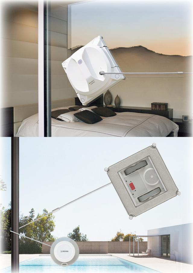 画像: 万が一の落下を防ぐ安全ケーブルも備えている。
