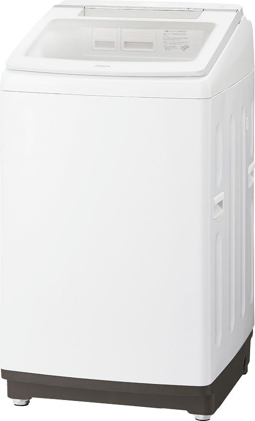 画像: AQW-GTW 100Gの洗濯容量は10キロ。