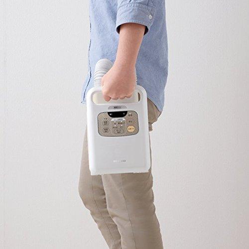 画像3: おすすめはツインノズルの布団乾燥機・カラリエ KFK-W1-WP