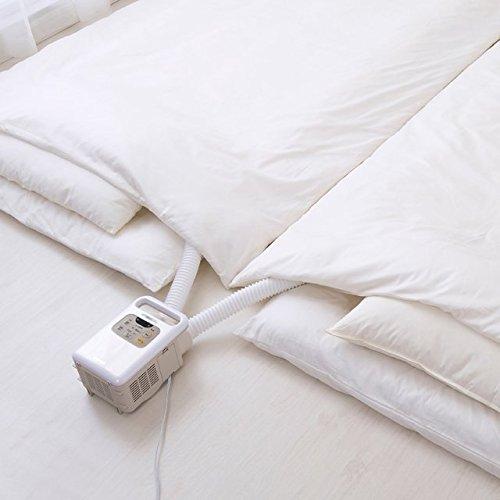 画像: ツインノズルで、2組の布団の温めや乾燥が同時にできる。