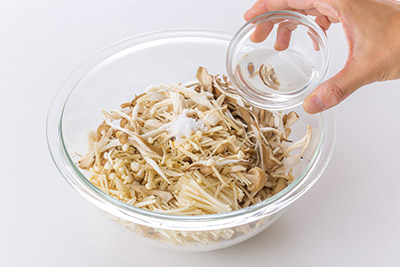 画像2: 【塩きのこの作り方】ダイエット・便秘改善にピッタリの美味レシピを紹介!