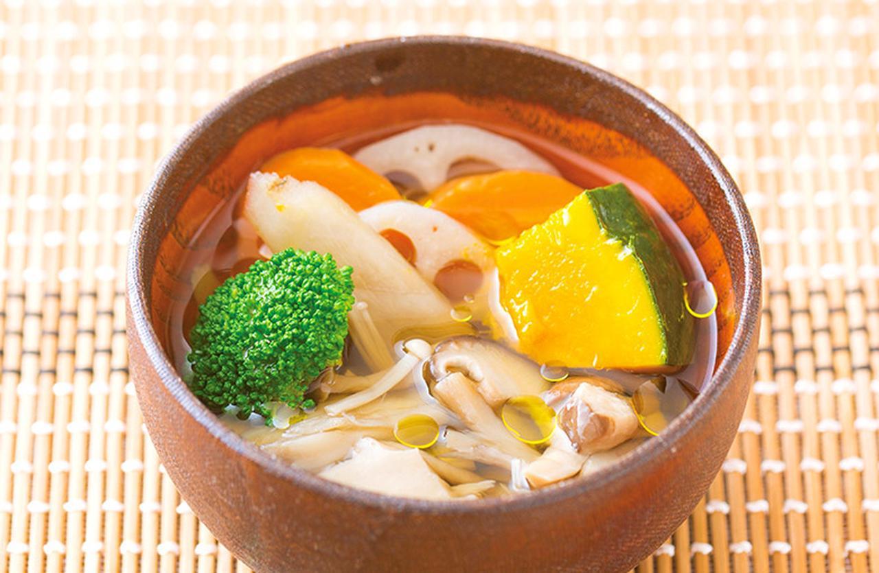 画像8: オリーブオイルをプラスして腸温め効果をアップ!