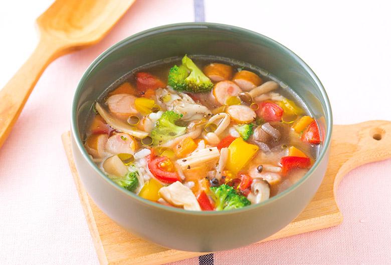 画像1: オリーブオイルをプラスして腸温め効果をアップ!