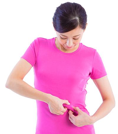 画像5: 【腸を温める方法】お腹をつまんで内臓を温める「へそ按摩」は冷えを改善するセルフケア
