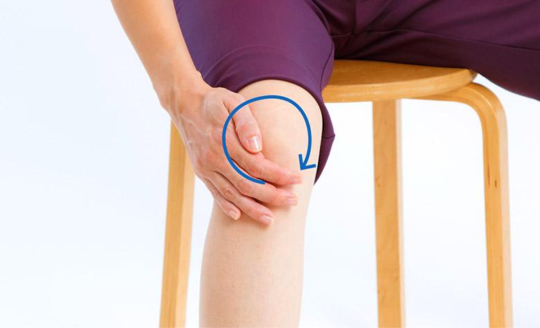 画像1: 症状別 「ひざ痛」を改善する綿棒ぐるぐる刺激