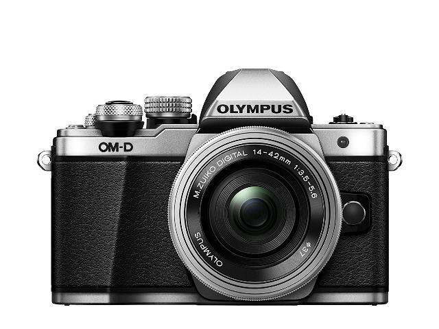 画像: マイクロフォーサーズ規格(センサーサイズ4/3型)のミラーレスカメラ。センサー有効画素数:約1605万画素。装着レンズは、携帯性抜群の電動式パンケーキ標準ズーム「M.ZUIKO DIGITAL ED 14-42mm F3.5-5.6 EZ」。