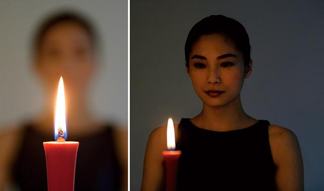画像: 明眼之法其の伍 精神統一の鍛錬になる「灯火目付」