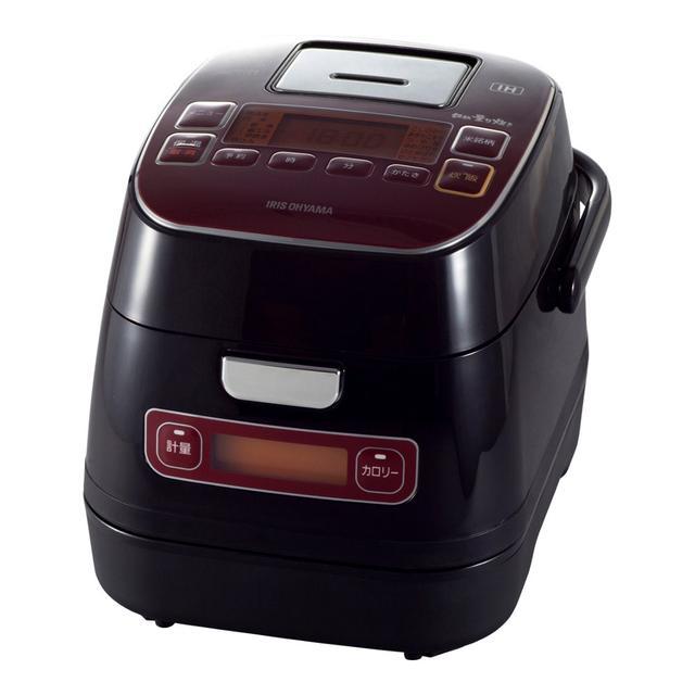 画像: アイリスオーヤマ 炊飯器 IH 3合 銘柄量り炊き カロリー計算機能付き 米屋の旨み RC-IA32-R www.amazon.co.jp
