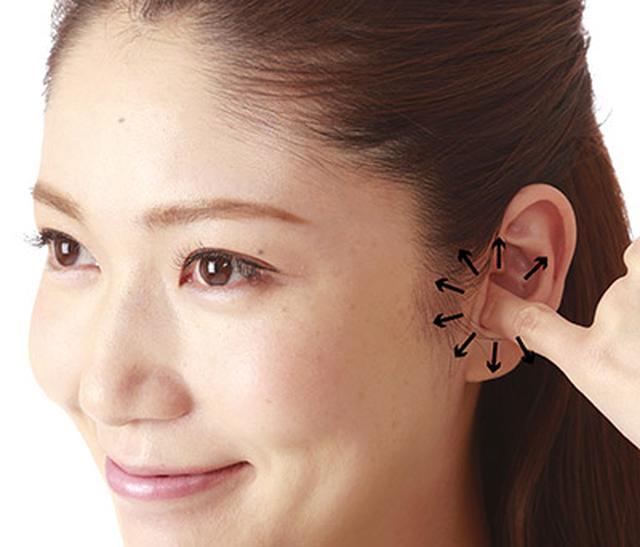 画像3: 顔のむくみをとるマッサージは「耳の穴」まですると即効性!耳の穴もみのやり方