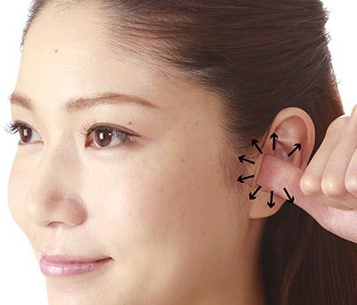 画像2: 顔のむくみをとるマッサージは「耳の穴」まですると即効性!耳の穴もみのやり方