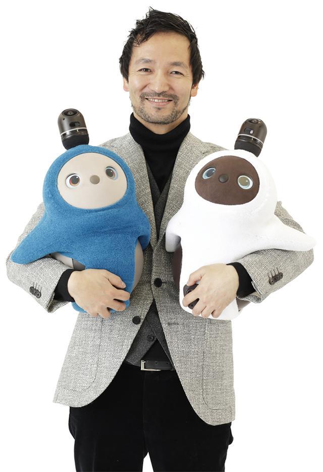画像: GROOVE X代表取締役の林要氏は、人型ロボットPepperの開発に携わった。LOVOTが、Pepperとはまったく異なるコンセプトのロボットになっているのは、興味深い。