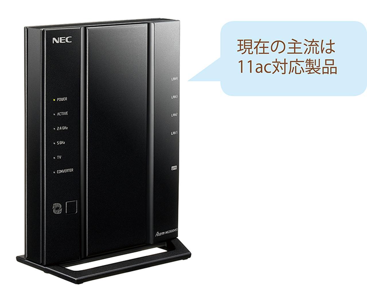 画像: NEC Aterm WG2600HP3