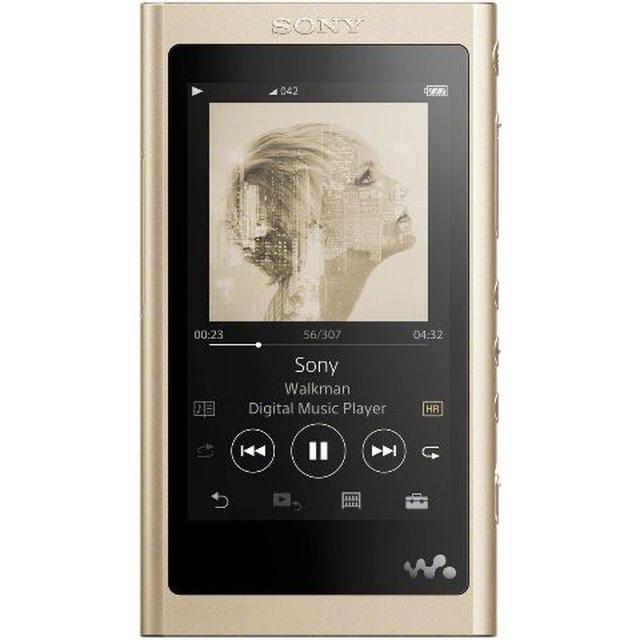 画像: NW-A55本体に、ハイレゾ対応のノイズキャンセリングイヤホンが付属した「NW-A55HN」。イヤホンのカラーも本体色とコーディネイトされる。 www.amazon.co.jp