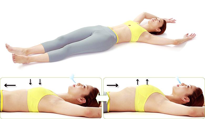 画像2: 肝臓の疲れを取る「肝臓呼吸」のやり方