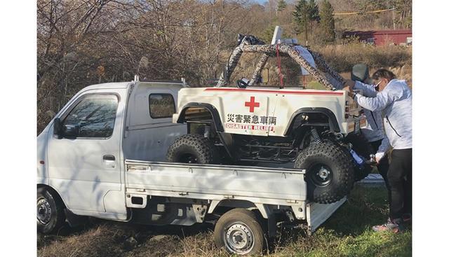 画像: 軽トラックの荷台に載せて運搬できるので、活躍の場が広がる。