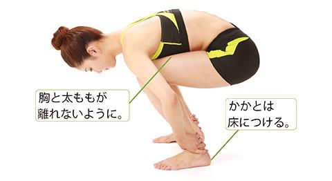 画像2: 「太もも伸ばし」のやり方