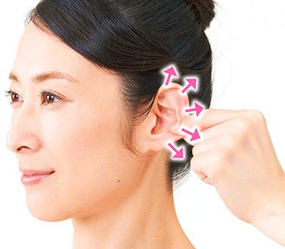 画像4: 【耳鳴りの止め方】耳たぶあんま(押し揉みマッサージ)で自律神経を整えるセルフケア