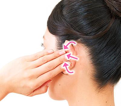 画像6: 【耳鳴りの止め方】耳たぶあんま(押し揉みマッサージ)で自律神経を整えるセルフケア
