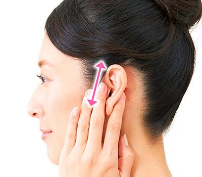 画像2: 【耳鳴りの止め方】耳たぶあんま(押し揉みマッサージ)で自律神経を整えるセルフケア