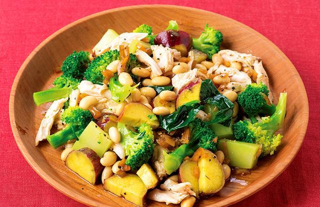 画像5: 美味しく食べて肌や血管が若返る!「蒸し大豆」レシピ6選