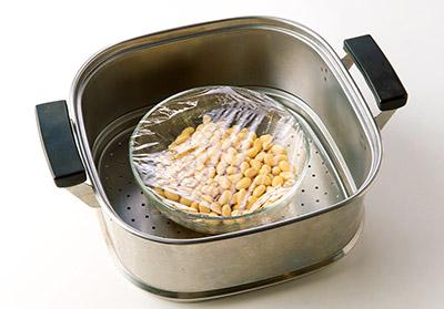 画像4: 肌や血管が若返る「蒸し大豆」の作り方とアレンジレシピ6選