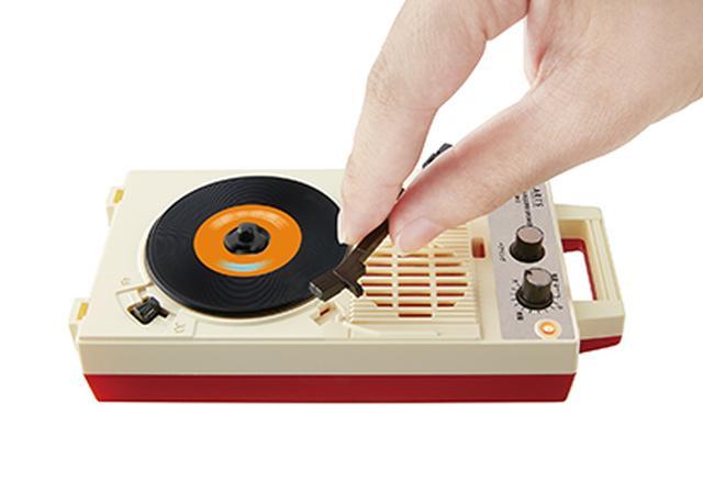 画像: レコードプレーヤーならではの作法が楽しめる。©T-ARTS