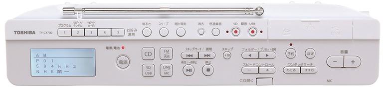 画像2: 東芝 TY-CX700